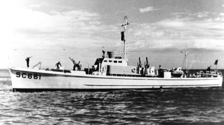 znaleziono wrak ścigacza okrętów podwodnych BO-224