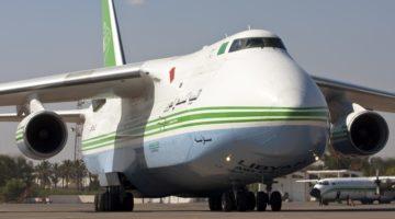 libijski An-124 zniszczony w walkach o Trypolis