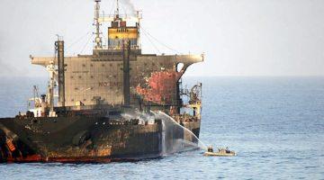 Atak na zbiornikowce w Zatoce Omańskiej