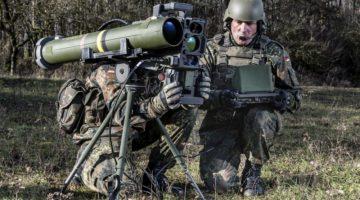 Strzelania ćwiczebne niemieckiego systemu MELLS