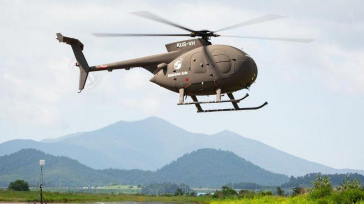 Korea Płd.: Bezzałogowy MD 500 oblatany