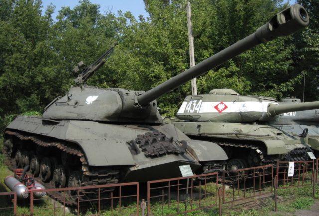 IS-3 w warszawskim Muzeum Polskiej Techniki Wojskowej