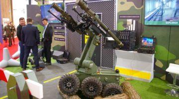 Robot przeciwlotniczy Perkun