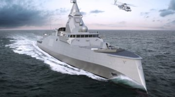 Rozpoczęcie budowy pierwszej Frégate de défense et d'intervention dla Francji
