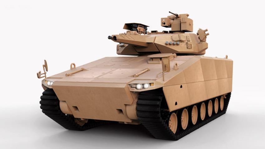 ADEX 2019: Ujawniono prototyp bwp AS21 Redback