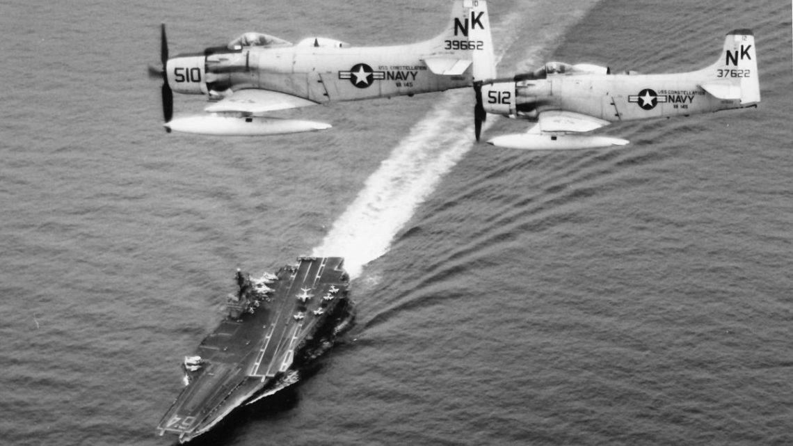 Operacja Pierce Arrow. Odwet US Navy za incydent na Zatoce Tonkińskiej