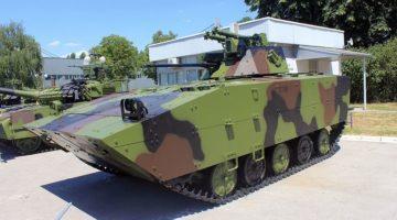 Serbia: Testowano prototyp unowocześnionego bwp M-80AB1