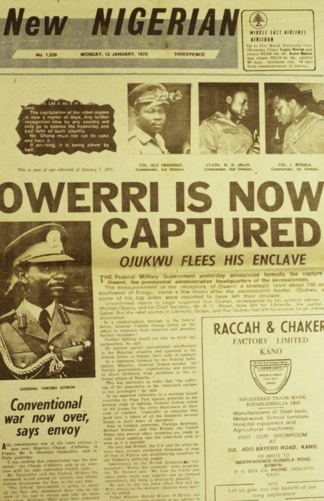 New Nigerian Biafra
