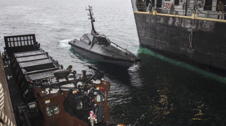 Mast 13 w doku HMS Albion