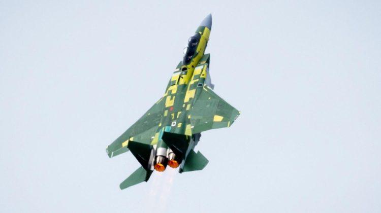 F-15QA wykonał pierwszy lot