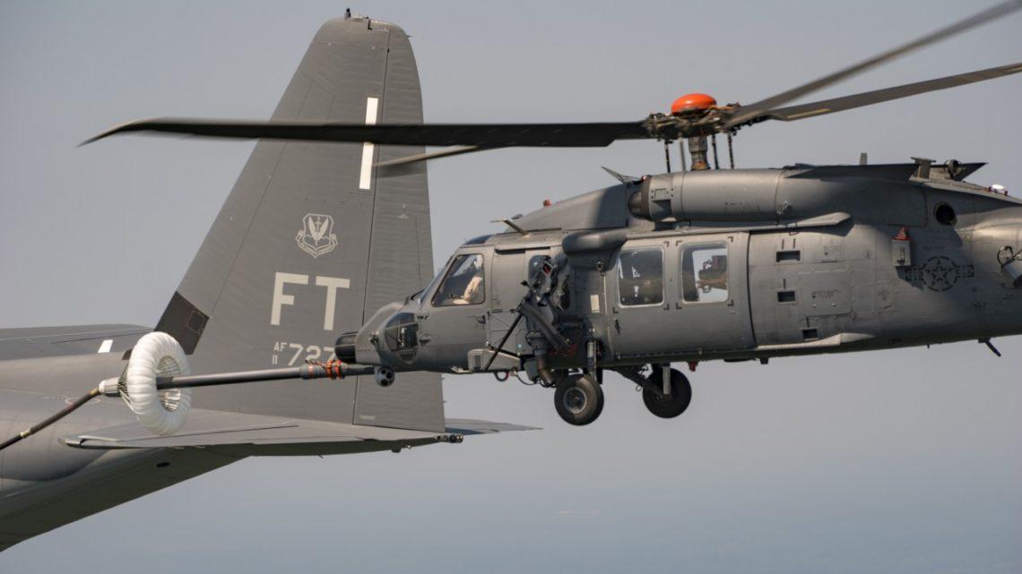 HH-60W Jolly Green II zaczął próby tankowania w locie