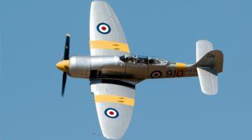 W Anglii rozbił się zabytkowy Hawker Sea Fury