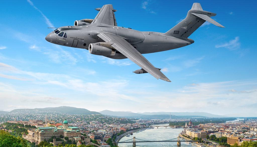 KC-390 Budapeszt