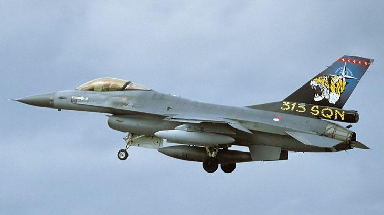 Koniec F-16 w 313. Eskadrze Koninklijke Luchtmacht