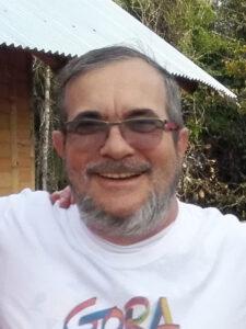 Jeden z dowódców FARC, Rodrigo Londoño
