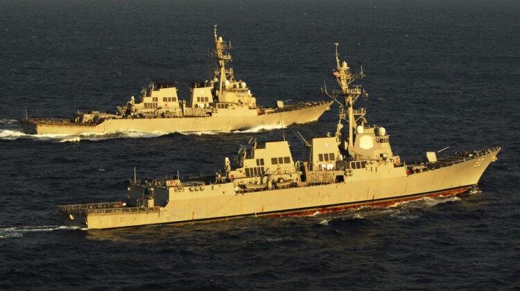 UFO zaobserwowano z pokładu USS Kidd 14 lipca około 22.00.
