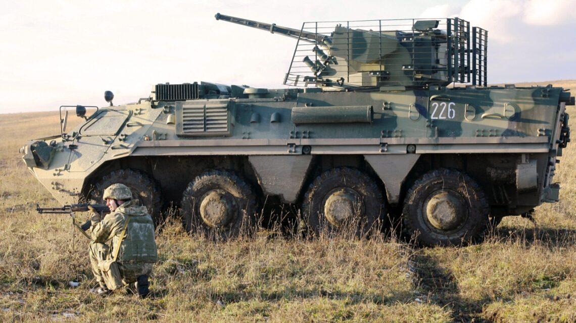 Donbas: Dalsza koncentracja wojsk, poległo czterech Ukraińców