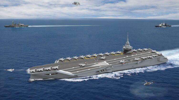 Naval Group i Chantiers del'Atlantique zbudują nowy francuski lotniskowiec